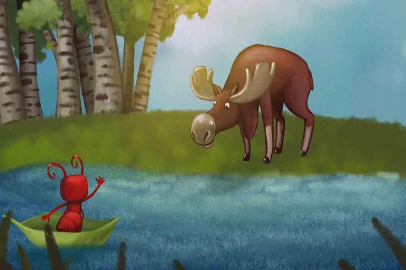 動物伊索寓言-螞蟻的工作