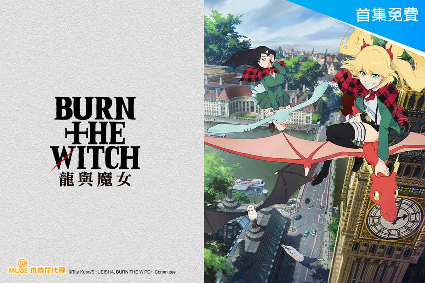 BURN THE WITCH 龍與魔女