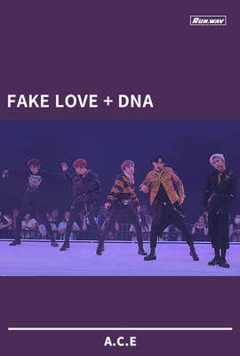 FAKE LOVE+DNA|A.C.E