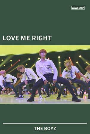 LOVE ME RIGHT|THE BOYZ
