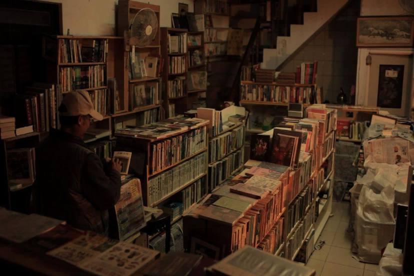 書店裡的影像詩