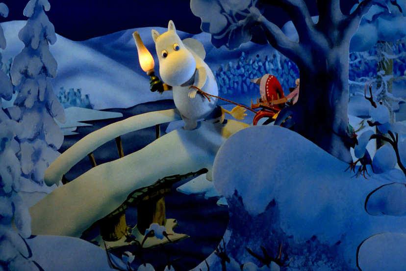 (英)嚕嚕米冬日樂園