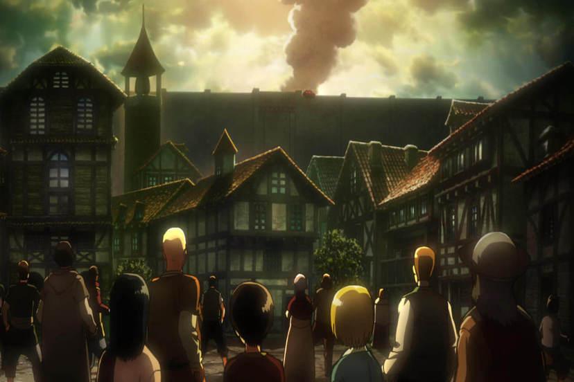 進擊的巨人劇場版 前編:紅蓮的弓矢