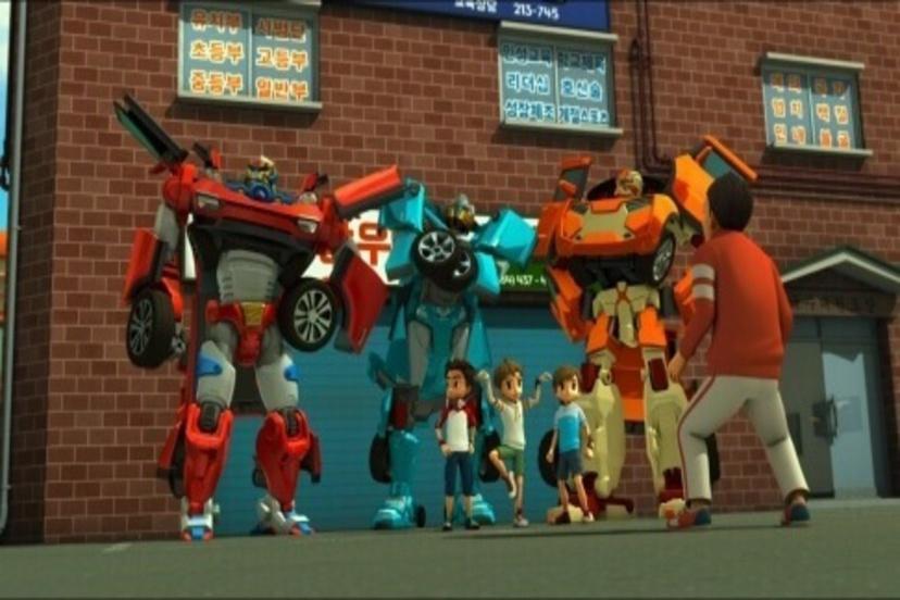 (韓)電影版機器戰士TOBOT機器人軍團的襲擊