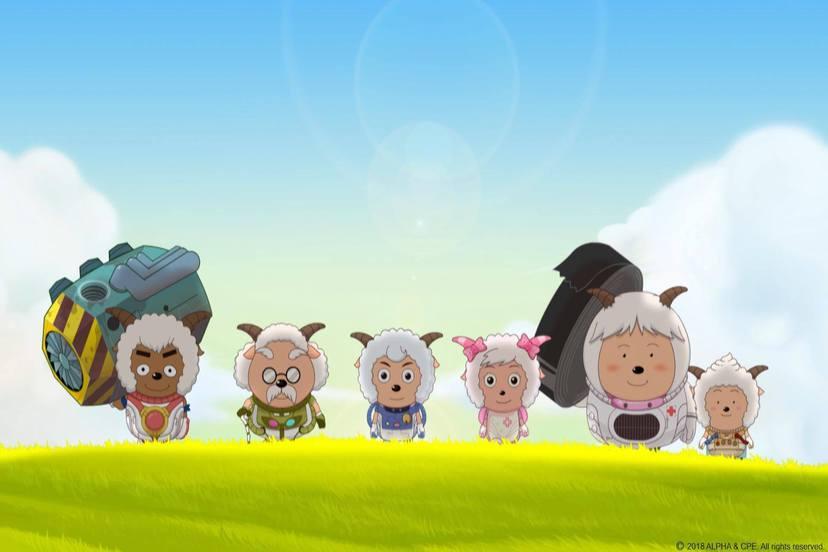 喜羊羊與灰太狼電影-兔年頂呱呱