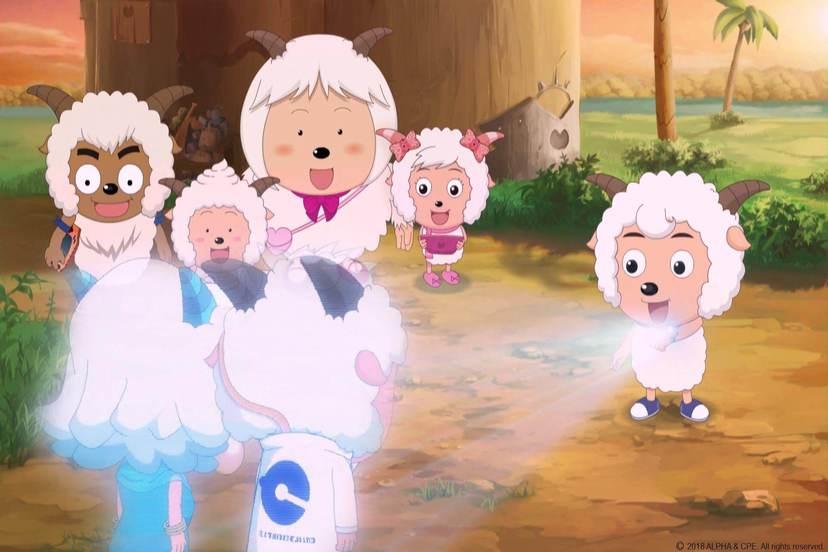 喜羊羊與灰太狼電影-開心闖龍年