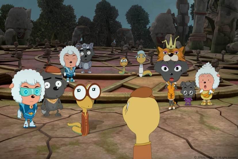 喜羊羊與灰太狼電影-喜氣羊羊過蛇年