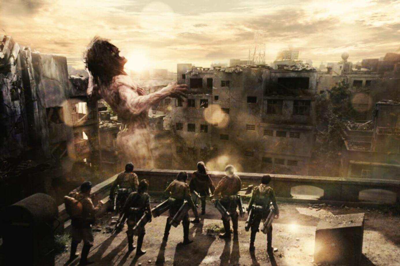 進擊的巨人2:世界終結(真人版)