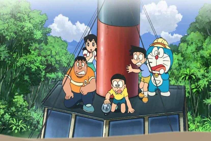 新大雄的大魔境:扁扁與五人之探險隊