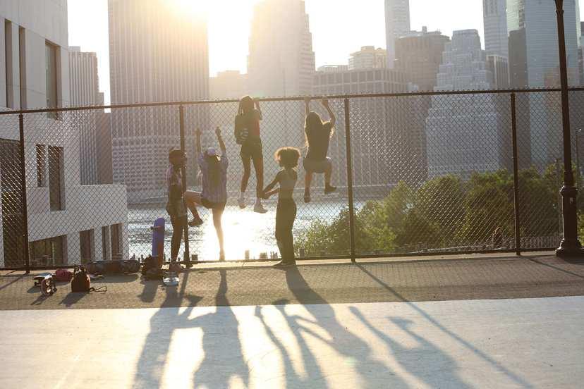 #滑板少女