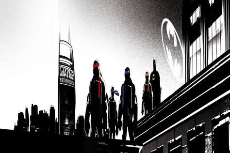 蝙蝠俠大戰忍者龜-預告