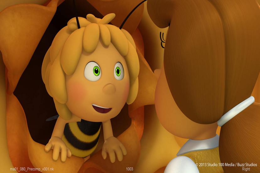 (中)瑪雅蜜蜂大冒險:蟲蟲歷險