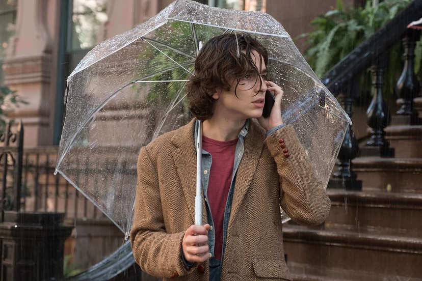 雨天.紐約